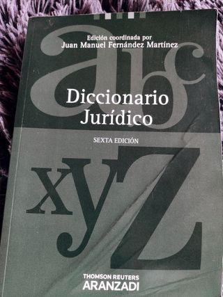 diccionario juridico sexta edición