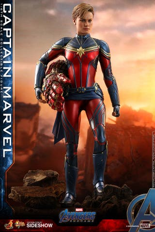 Capitana Marvel Figura 1/6 Endgame Hot Toys