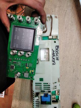 placa base lavadora Bosch maxx7