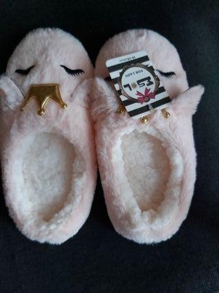 Zapatillas de casa mujer nuevas