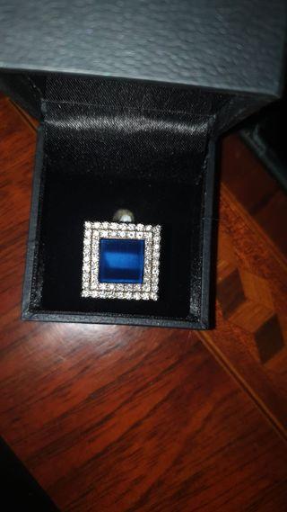 Pendientes Serpiente Oro Blanco Diamantes, Bulgari