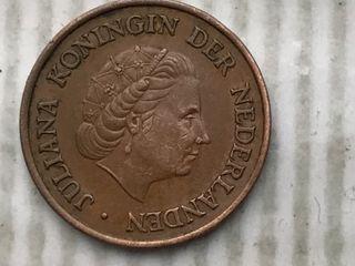 MONEDA 5 Céntimos. PAÍSES BAJOS. AÑO 1974