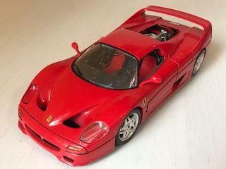 Ferrari 360 GT rojo con vitrina 1:43 Altaya