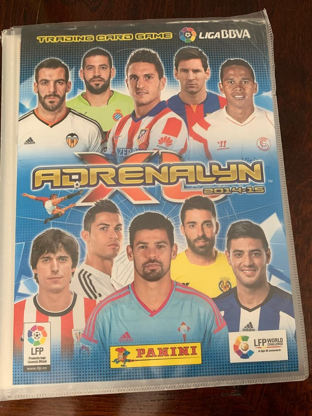 Álbum adrenalyn 2014-15 completo