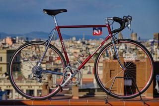Bicicleta de carretera Mendiz Columbus SL tg 58