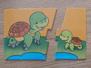 Puzzle mama y sus crias