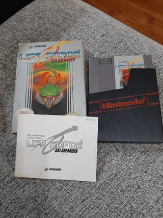 Juego Nintendo Life Force Salamander