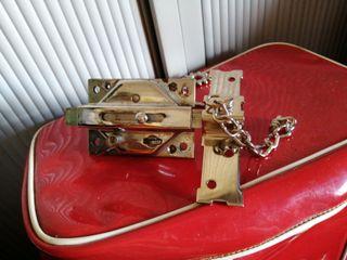 cerrojo lince cromada 2 llaves
