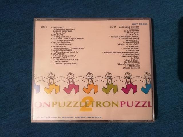 PUZZLETRON 2 PRECINTADO 2CD RECOPILATORIO 90