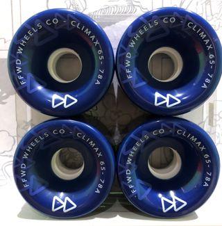 Ruedas Longboard Climax 65mm