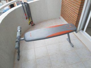Banco musculación