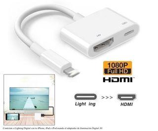Cable LIGHTNING A AV DIGITAL HDMI IPHONE IPAD