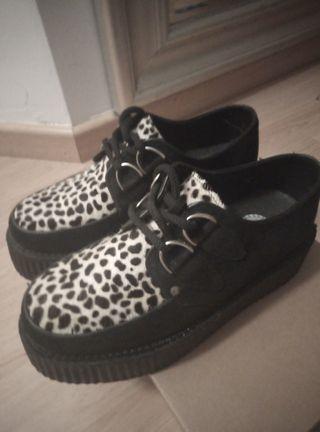 Zapatos Creepers. de segunda mano por 70 € en León en WALLAPOP
