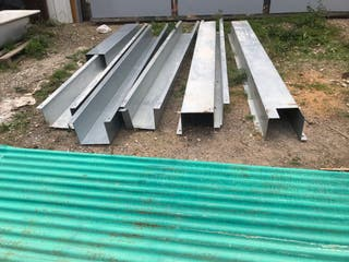 Canales de chapa galvanizada