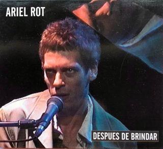 CD Single Ariel Rot Después de Brindar