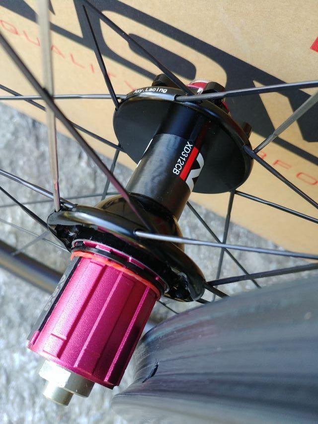 juego de ruedas carretera NUEVAS CARBONO perfil 38