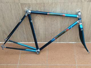 cuadro TVT 92 Carbone.bicicleta clasica carretera
