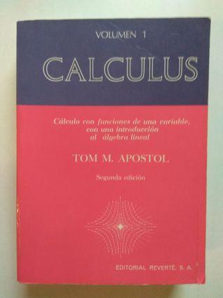 Libro Calculus Volumen 1