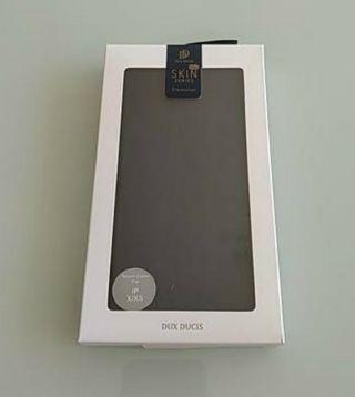 Funda para iPhone X/Xs tipo libro Dux Ducis