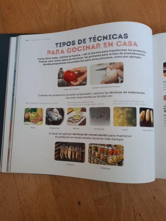 Libro Te cuento en la Cocina