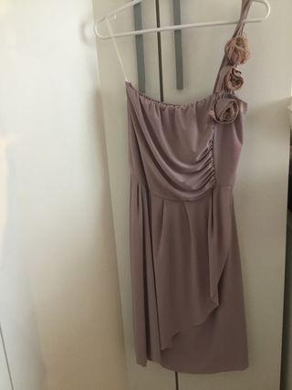 Vestido de un hombro