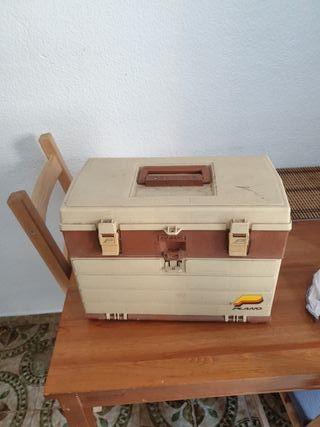 caja para accesorios de pesca