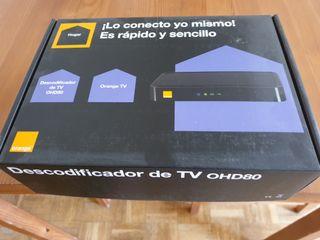 decodificador TV OHD80 de Orange
