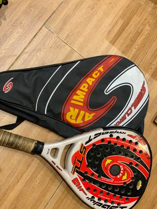Pala Padel y funda | steel custom