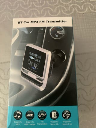 Adaptador BT/USB/Mini Jack de mechero para coche