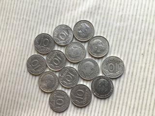 MONEDA 10 Céntimos. FRANCO. AÑO 1959. 14x1€