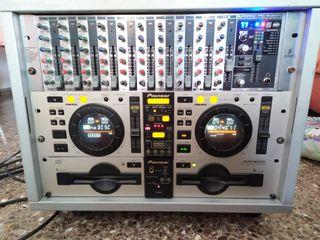 Equipo de sonido para dj, fiestas.