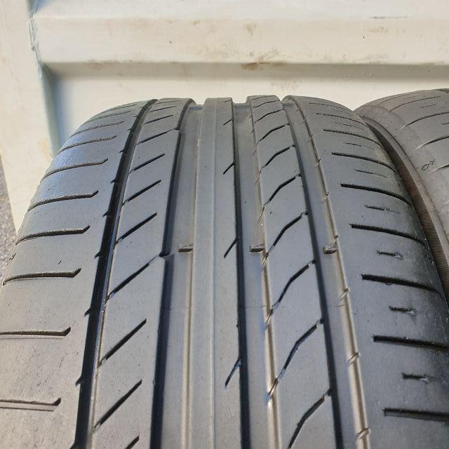 2x 225/45R18 Continental [5.0mm Tread] 2254518