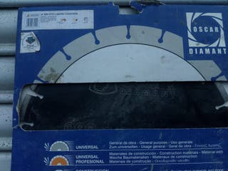 Disco para máquina de mesa ladrillo caravista