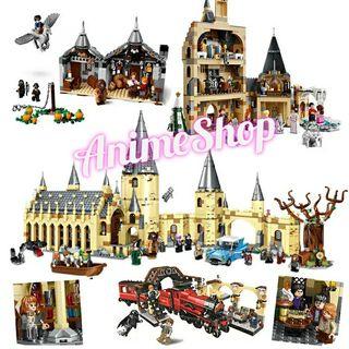 CONSTRUCCIÓN HARRY POTTER COMPATIBLE LEGO
