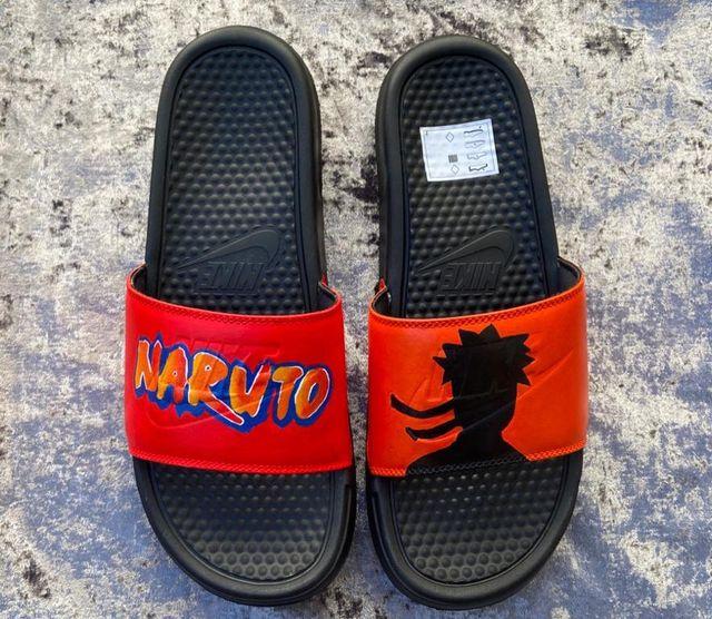 Nike Naruto sliders