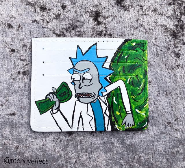 Card Holder | Rick and Morty design