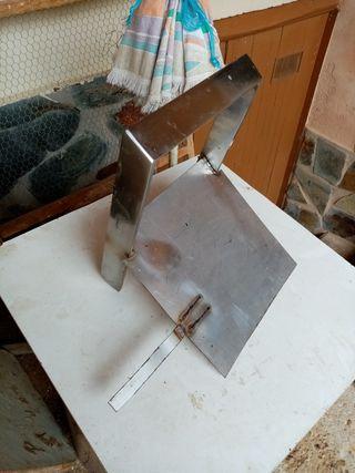 soporte de matrícula para quad de acero inoxidable