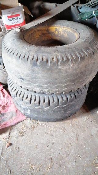 rueda naumatico llanta remolque tractor agricola