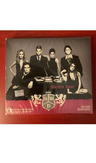 RBD - Nuestro Amor CD Edición diamante