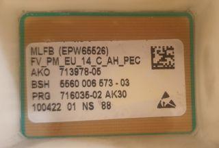 Placa Lavadora Bosch Maxx6 Maxx 6 Kg 1200 rpm