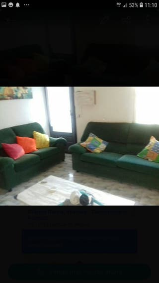 Se venden sofas 75€ dos personay 100 euros el de3
