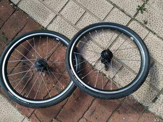 Ruedas delanteras de Trike Reclinado