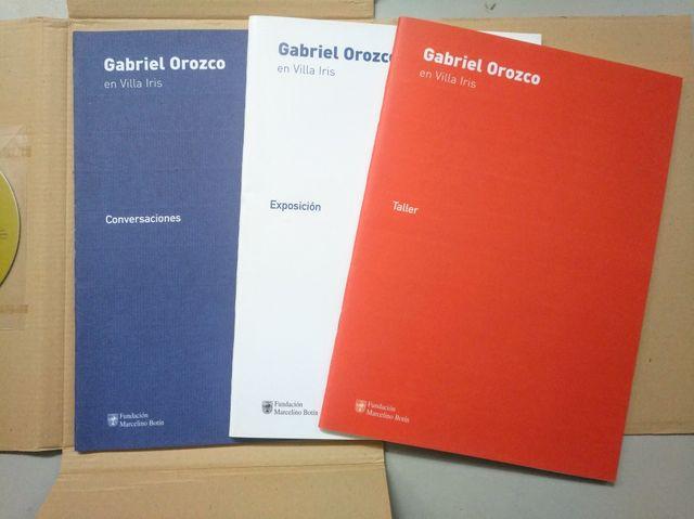 """Libro """"Gabriel Orozco en Villa Iris"""""""