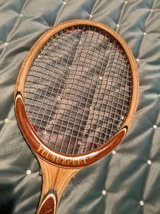 Raqueta tenis años 70