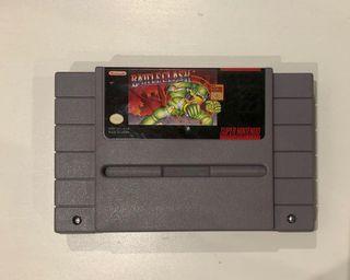 Super nintendo, juego Battleclash