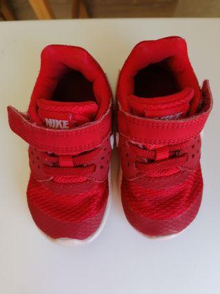 Bambas bebé Nike número 21