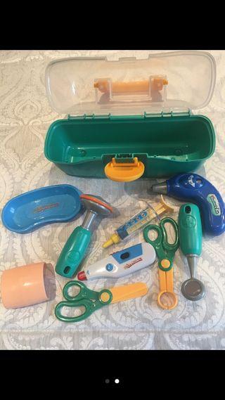 Instrumentos de médico.