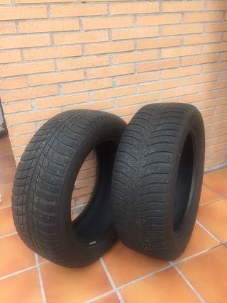 02 neumáticos invierno BRIDGESTONE