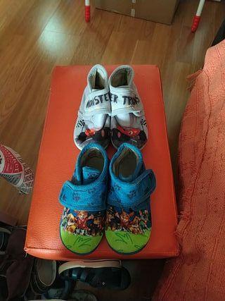 zapatillas de casa talla 24