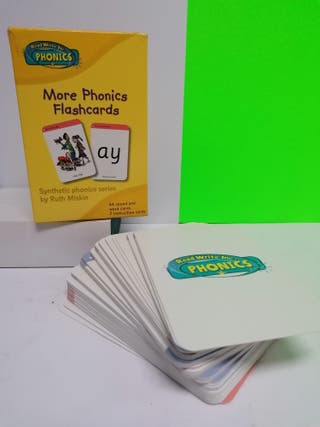 MORE PHONICS FLASHCARDS NUEVO!!